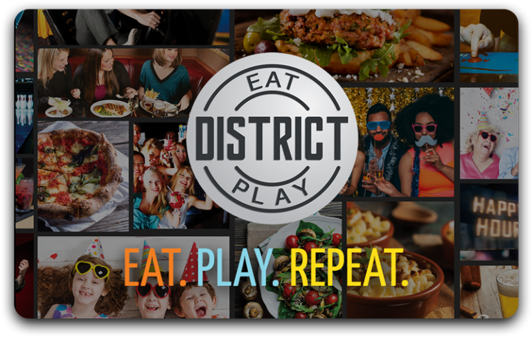 District Eat and Play Card